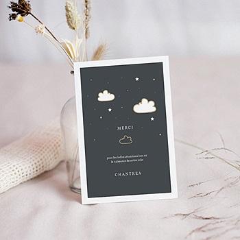 Achat carte remerciement naissance créatif lampion magique