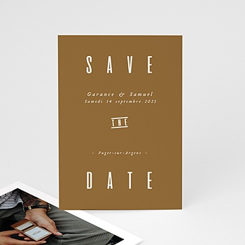 Save-The-Date - Lin & Moutarde - 0