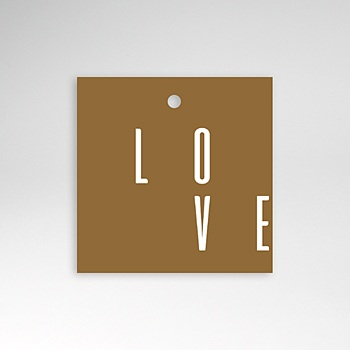 Etiquette mariage - Lin & Moutarde - 0