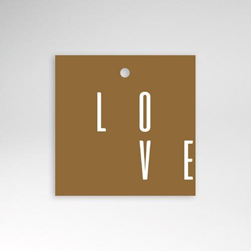 Etiquette Cadeau Mariage Lin & Moutarde