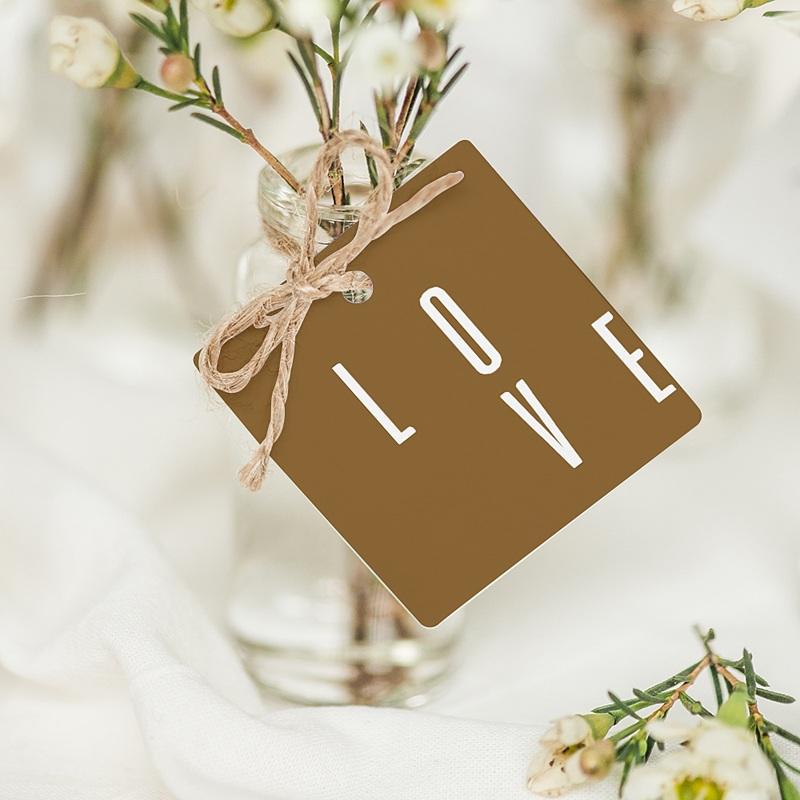 Etiquette mariage Lin & Moutarde