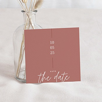 Save the date mariage Esprit Bohême