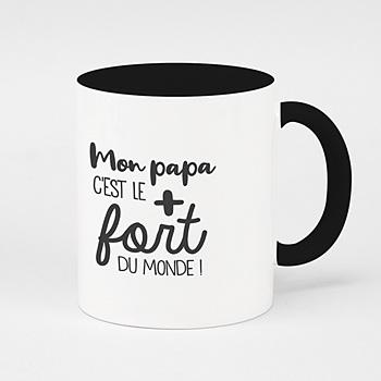 Mug fête des pères - Le plus fort - 0