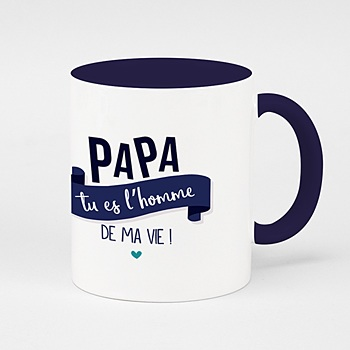Acheter mug fête des pères l'homme de ma vie
