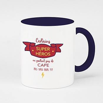 Mug fête des pères - Supers Héros - 0