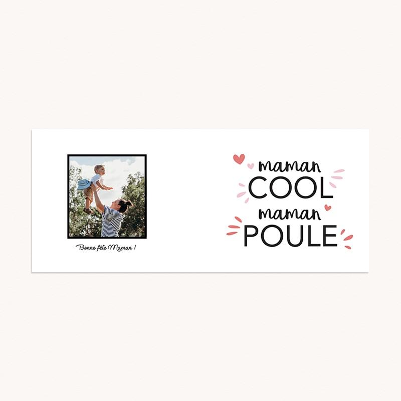 Mug Personnalisé Fête des Mères Idée cadeau Maman Cool Maman Poule pas cher