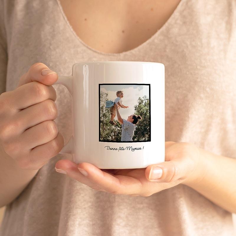 Mug Personnalisé Fête des Mères Idée cadeau Maman Cool Maman Poule gratuit