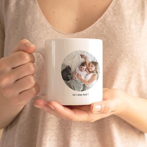 Mug Personnalisé Fête des Mères Super cadeau Personne n'est parfait sauf maman gratuit