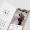 Carte remerciement mariage original Venezia pas cher