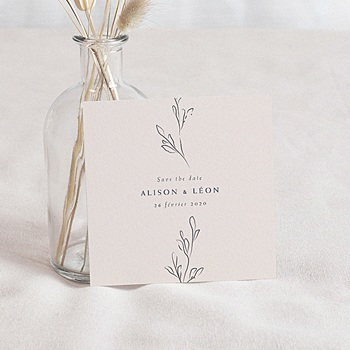 Save the date mariage Inspiration Kinfolk