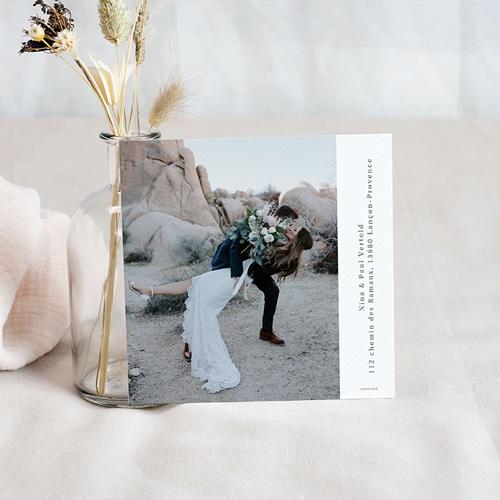 Save the date mariage Esprit Bohème pas cher