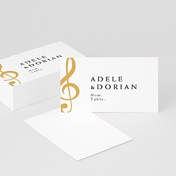 Marque place mariage musique