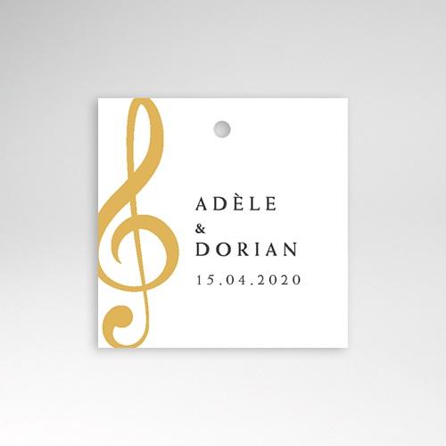 Etiquette Cadeau Mariage Musique