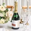 Etiquette Bouteille Champagne Terracotta gratuit