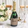 Etiquette Bouteille Mariage Cheers Moka gratuit