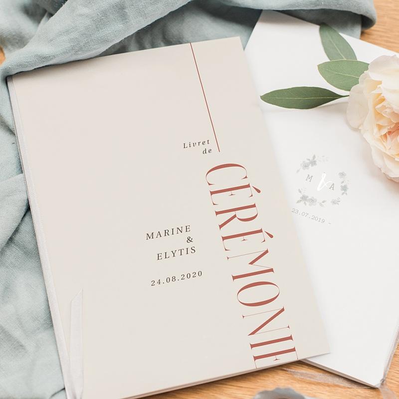 Livret Messe Mariage Union Parfaite pas cher