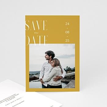 Save the date mariage Union Parfaite