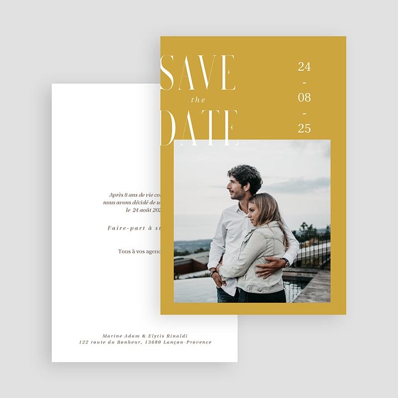 Save The Date Mariage Union Parfaite gratuit