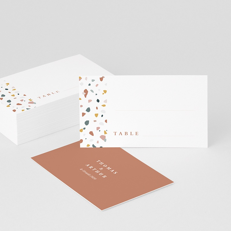 Marque Place Mariage Terrazzo Or
