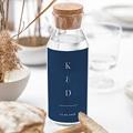 Étiquette bouteille mariage vin Azulejos Bleus gratuit