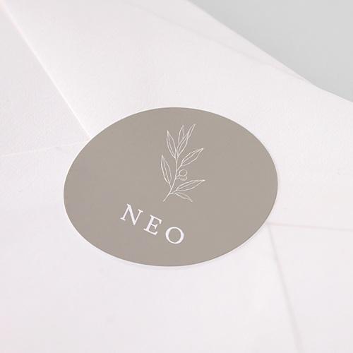 Etiquette Autocollante Naissance Néophyte pas cher