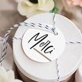 Etiquette mariage Effet Brush gratuit