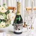 Etiquette Bouteille Champagne Vin & Photo gratuit