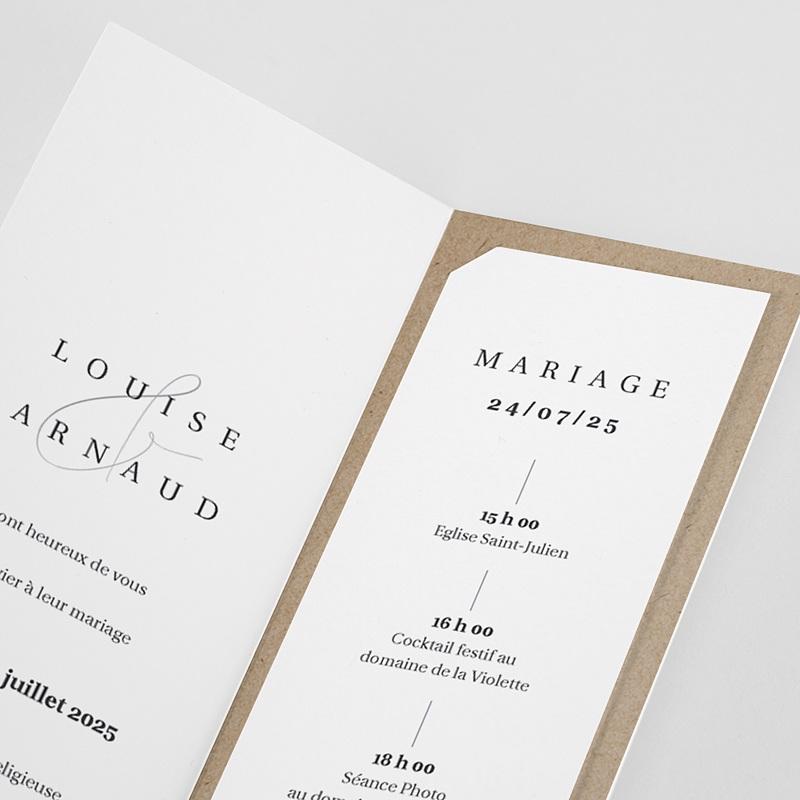 Carte Remerciement Mariage Liberty Toujours pas cher