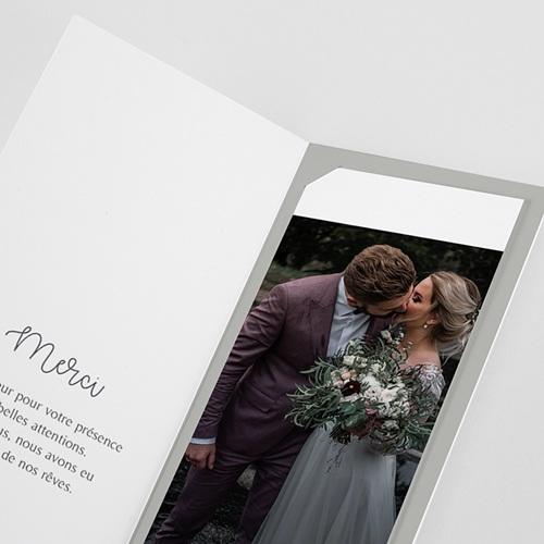 Carte Remerciement Mariage Champêtre Rameaux Aquarelle pas cher