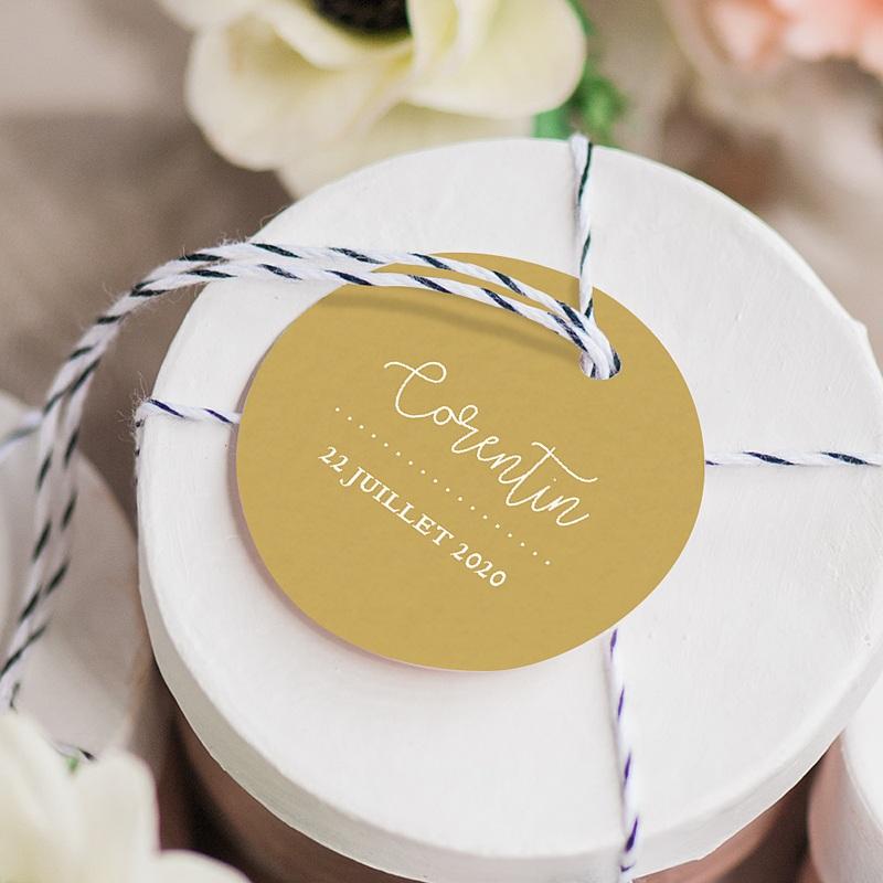 Etiquette Cadeau Naissance Culotte courte gratuit