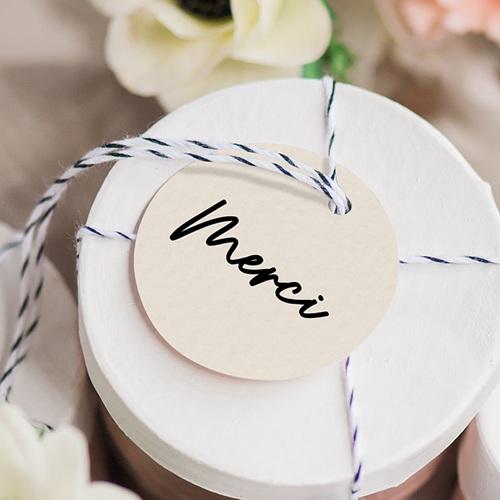 Etiquette Cadeau Mariage Mastic Majestic gratuit