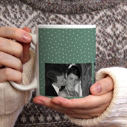 Mug Personnalisé Photo Ma tasse photo verte gratuit
