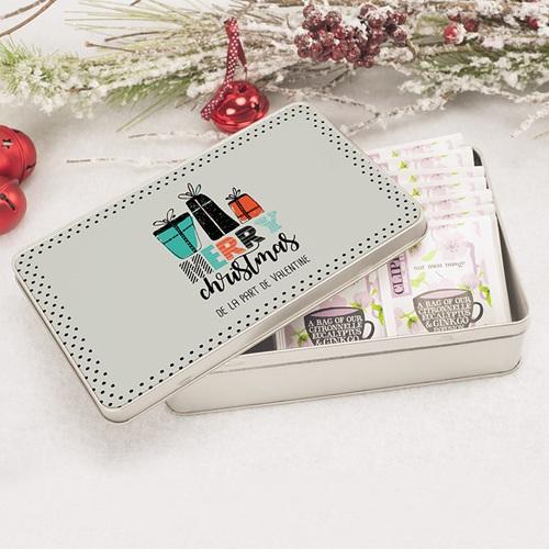 Boîte Personnalisée Photo Cadeaux de Noël pas cher