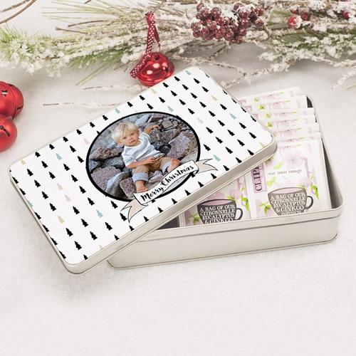 Boîte Personnalisée Photo Sapins & Co pas cher