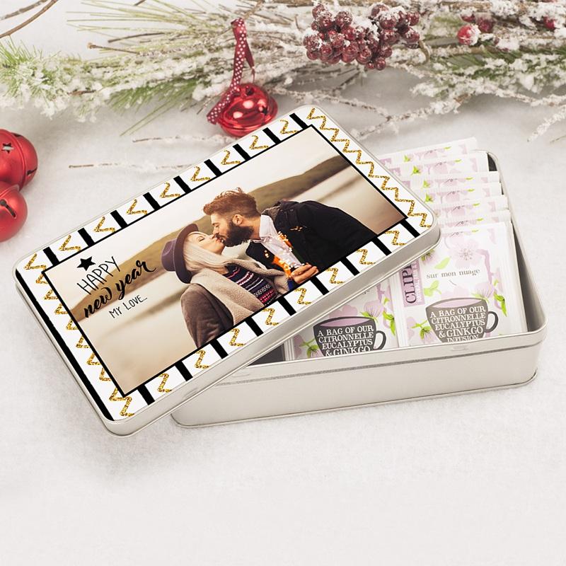 Boîte Personnalisée Photo Présents pas cher