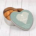 Boîte Personnalisée Photo Coeur &  Flocons pas cher