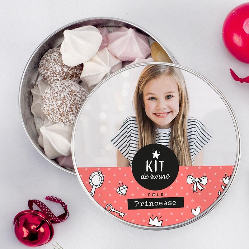 Boîte personnalisée Kit pour princesse pas cher