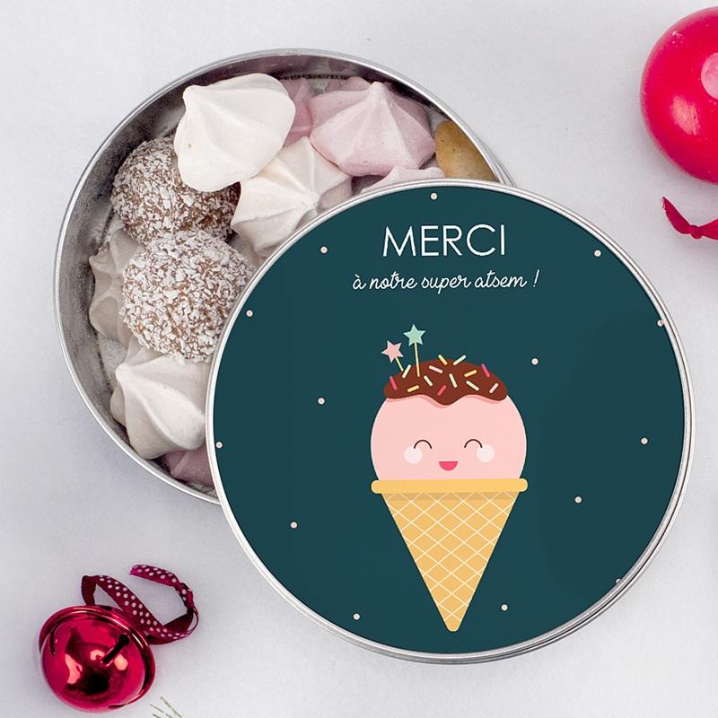 Boîte Personnalisée Photo Happy Ice Cream pas cher