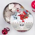 Boîte en métal ronde Pull de Noel pas cher