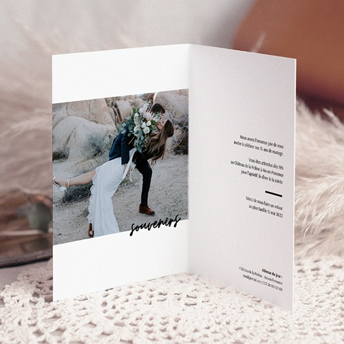 Carte Invitation Anniversaire Mariage Noces de Cristal 15 ans pas cher