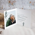 Carte Invitation Anniversaire Mariage 40 ans Emeraude pas cher
