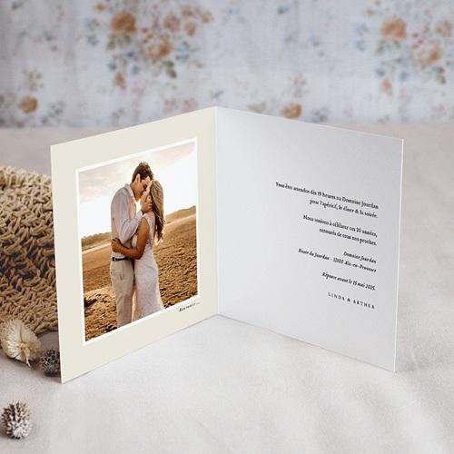 Carte Invitation Anniversaire Mariage Noces et jubilés pas cher