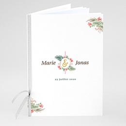 Livret messe mariage Couronne Tropicale & Doré