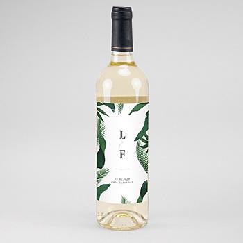 Etiquette bouteille de vin pas cher