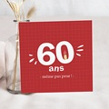 Carte Invitation Anniversaire Adulte Multi-âges