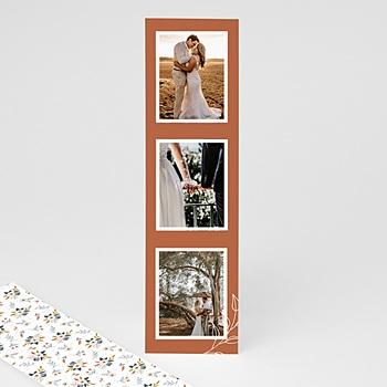 Carte remerciement mariage champêtre pas cher