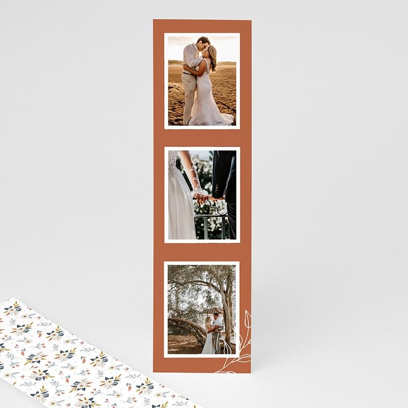 Carte Remerciement Mariage Photo Liberty Love