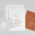 Faire-Part Mariage Liberty Liberty Love