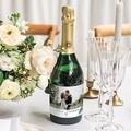 Etiquette Bouteille Champagne Inchyra blue gratuit
