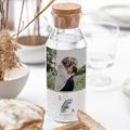 Étiquette bouteille mariage vin Inchyra blue gratuit